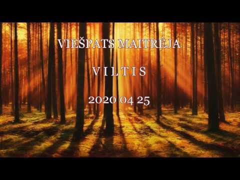 2020 04 25 Viešpats MAITRĖJA: VILTIS