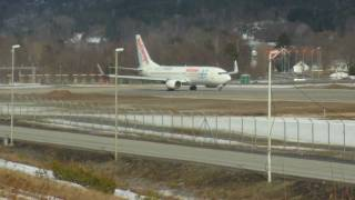 hd air europa   boeing 737 85p ec hkq   taxi takeoff kjevik