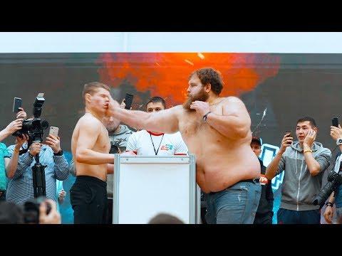 ЭТО БЫЛО ЖЕСТКО! ВЫРУБИЛ ПОЩЕЧИНОЙ. ТУРНИР ПО ПОЩЕЧИНАМ! Russian Slap Championship - Видео онлайн