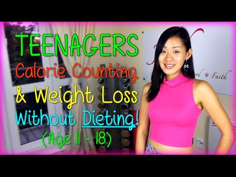 Teenagers Calorie Requirement & Weight Loss Without Dieting! (Age 11-18)