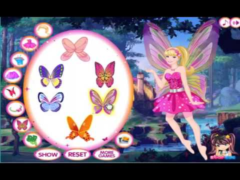 Barbie Mariposa And The Fairy Princess Games