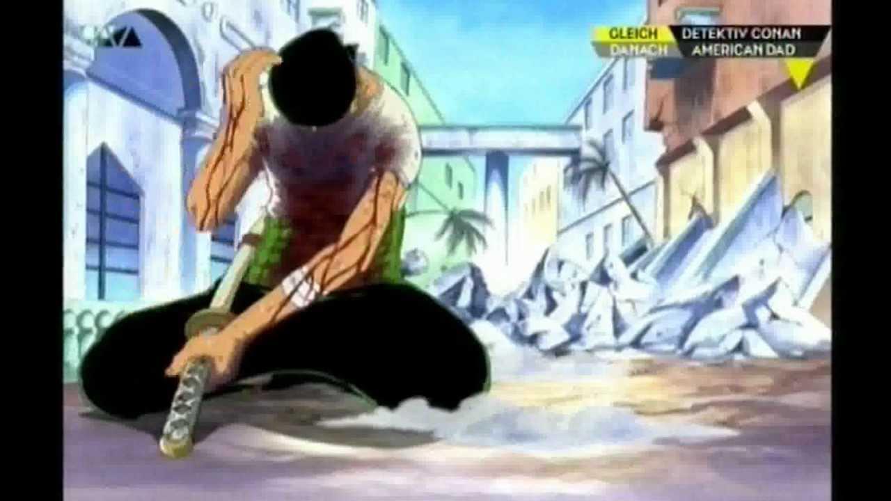 One Piece Zorro Vs Mr 1 Final Attacke Uncut Auf Deutsch