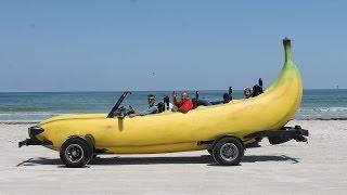 Banana Car: Inventor Turns Pick-Up Truck Into Driveable Banana