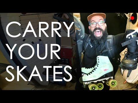 HOW DO YOU CARRY YOUR SKATES? // LIVE VLOG