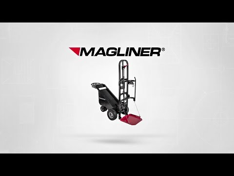 Magliner Motorized Dewar Cart