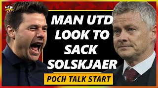 Solskjaer facing the sack | Manchester United hold meeting with Mauricio Pochettino