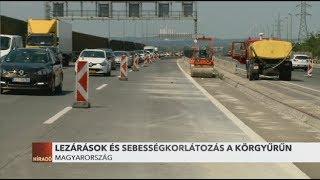 Káosz: Csak korlátozottan lehet haladni az M0-ás autópályán