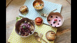 과일빙수 만들기, 냉동과일 셔벗 만들기