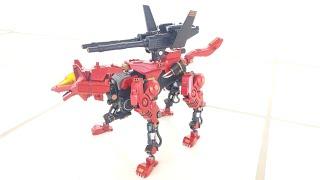 Zoids Command Wolf Riot - Rank 7 Western - Capabilities