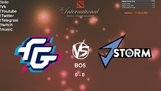 🔴 [RU] Forward Gaming VS J.Storm - The International 2019: NA Qualifier Playoff BO5 Final