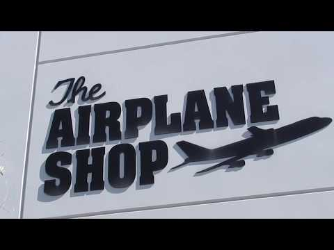 Tour of The Airplane Shop Las Vegas