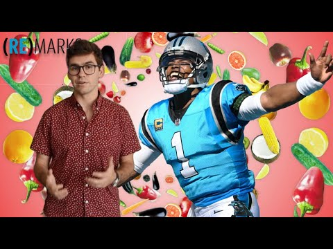 (RE)MARKS:  Cam Newton is Vegan, here's why we wrote about it.