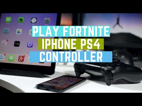 How to play Fortnite using PS4 Controller on iPhone