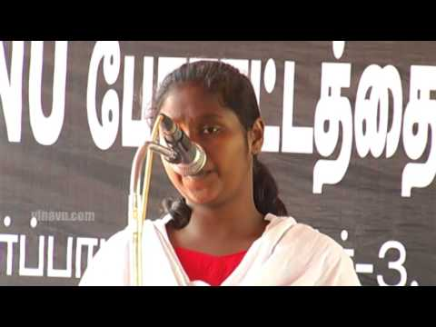 JNU Students Protest | Chennai Law College Student Speech