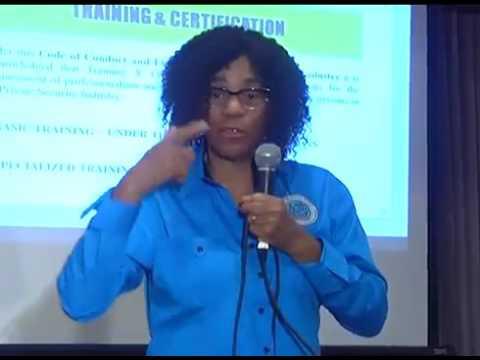 Presentation by Executive Director PSRA