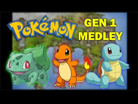 Pokemon Kanto Medley (Red/Blue/Yellow)