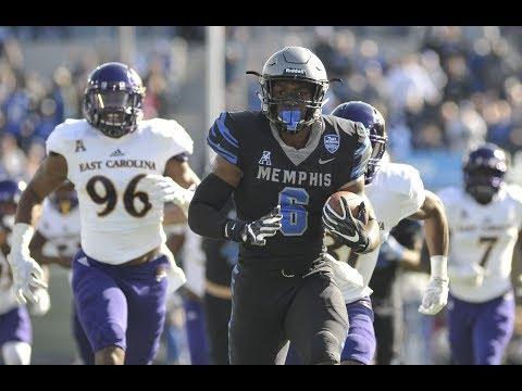 Football Highlights - Memphis 70, ECU 13