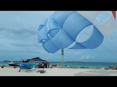 Bikini beach open Orient Baie 22 July 2018 after hurricane Irma St Martin