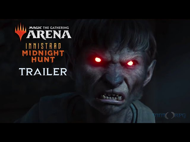 Magic: The Gathering Arena - Innistrad: Midnight Hunt Trailer   Official Cinematic