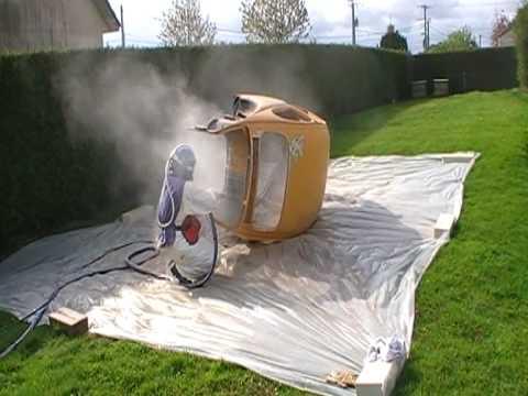 sablage vw coccinelle 1300 de 70 cox youtube. Black Bedroom Furniture Sets. Home Design Ideas