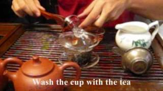 "How To Prepare Chinese ""Pu Er"" Tea"