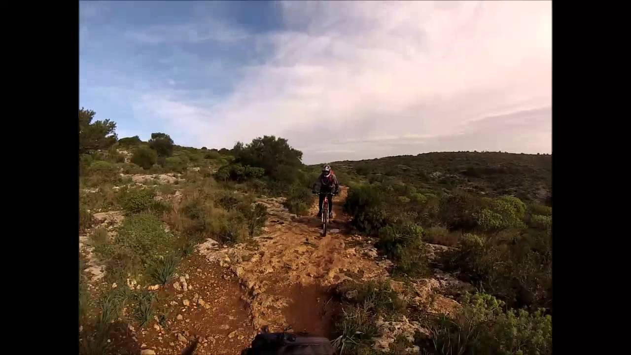 Cagliari Calamosca Bike Park - YouTube