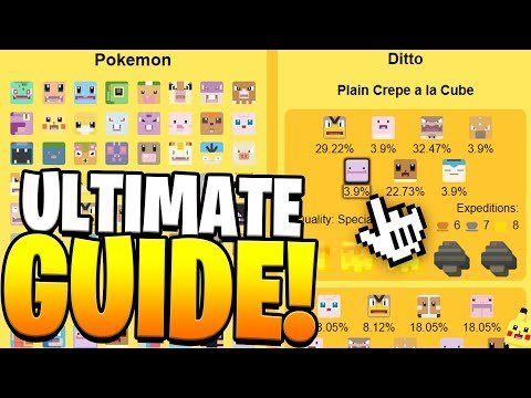 Pokemon Quest ALL POKEMON RECIPES! Best Cooking Guide for Pokemon Quest!