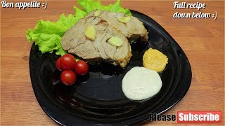 Buzhenina | Baked Pork Neck With Garlic | Happy New Year Baked Meat