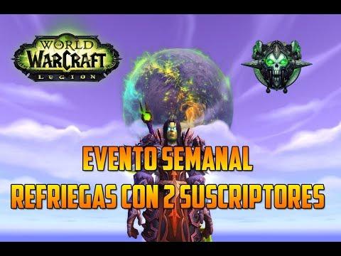 World of Warcraft | DK PROFANO - EVENTO SEMANAL - ARENAS CON SUSCRIPTORES - PvP