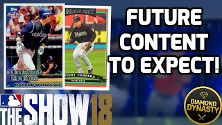 New Future Content And Programs To Expect Soon! MLB The Show 18 Diamond Dynasty News Update