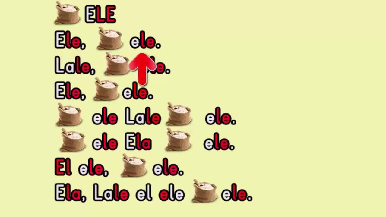E L A Sesi Birleştirme Ela Lale El Ele Okuma Yazma öğreniyorum Youtube