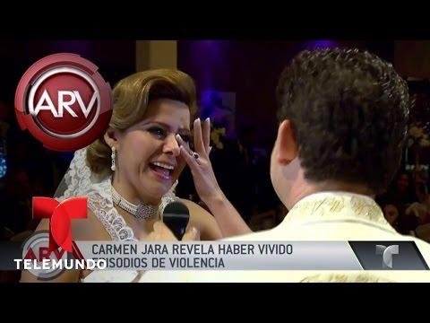 Carmen Jara se divorcia por violencia doméstica | Al Rojo Vivo | Telemundo