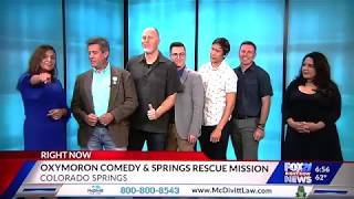 Oxymorons Comedy on FOX21 Weekend News