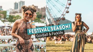 ULTIMATE Music Festival VLOG!! GovBallNYC & Parklife
