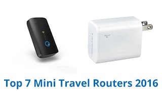 7 Best Mini Travel Routers 2016