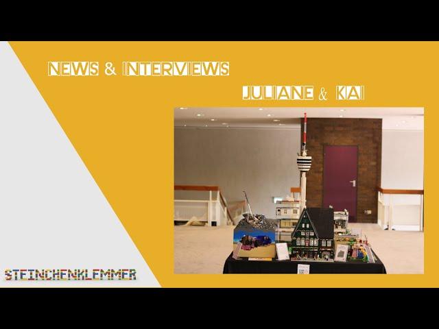 Modelle aus LEGO® Steinen von Juliane & Kai auf der Born2Brick 2021