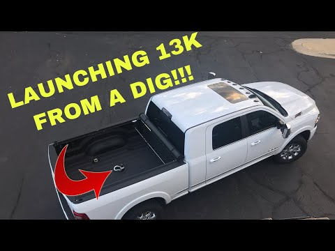 2019 RAM 3500 High Output Towing 13000k 0-60 AND Diesel Exhaust Brake!!!!