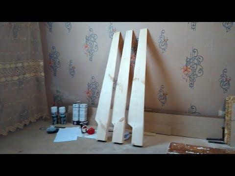 Изготовление лопастей из дерева bruxel36, винт 2.3м
