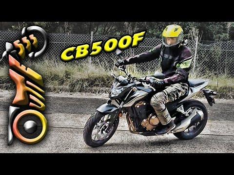 Honda CB500F 2016 2017 Review