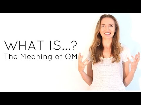 What is the meaning of OM AUM?