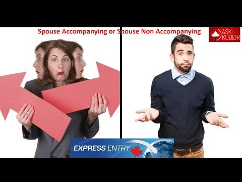 How Can I Apply For PR To Canada With My Spouse As NON Accompanying