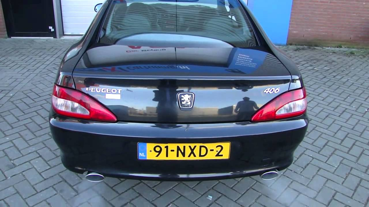 peugeot 406 coupe edelstahl sportauspuff maßgeschneidert www