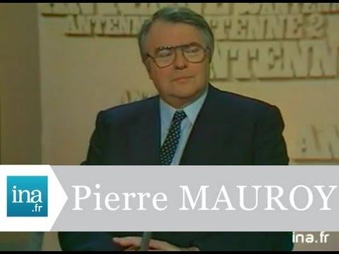 L'heure de vérité Pierre Mauroy - Archive vidéo INA