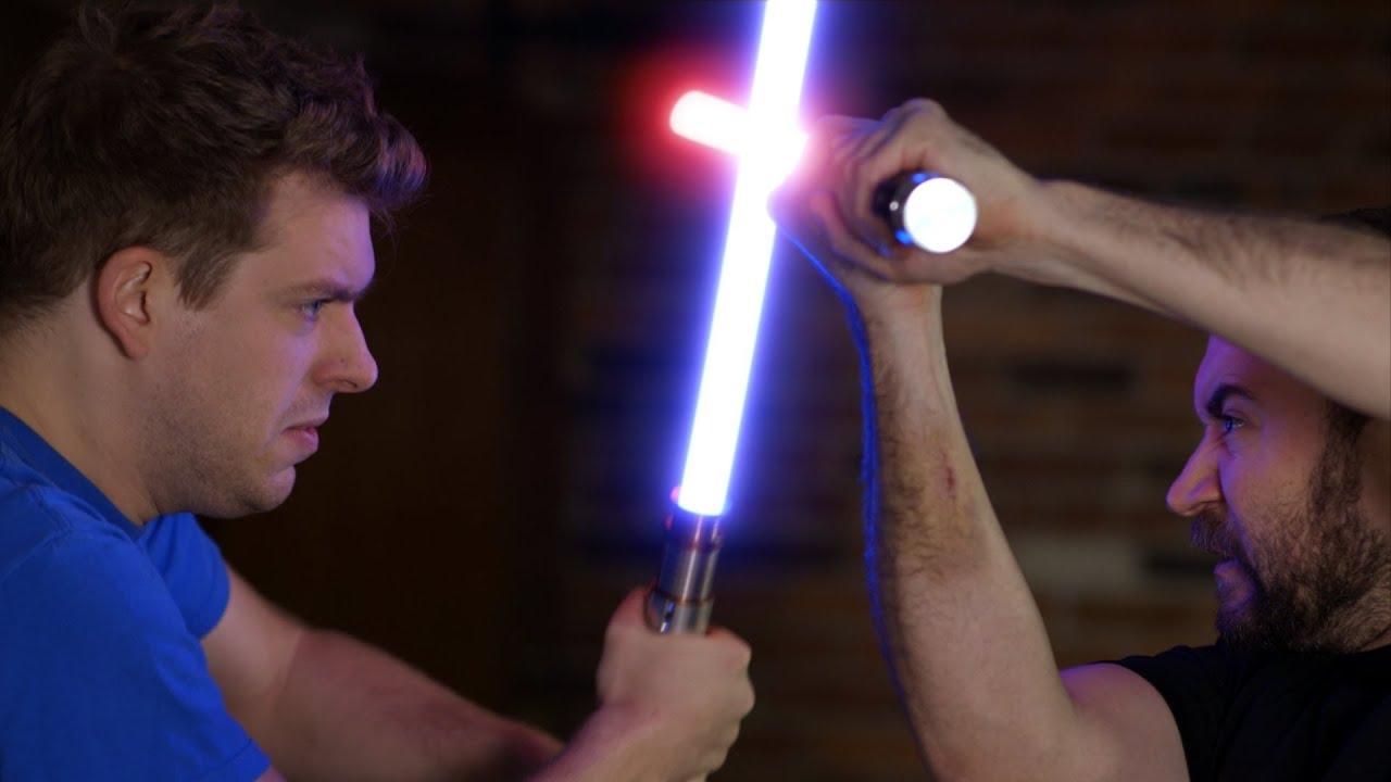 return of the apprentice lightsaber fight corey vidal and