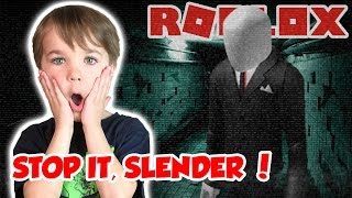 RUN FROM SCARY SLENDER MAN! / STOP IT, SLENDER 2! / SURVIVE THE HORROR NIGHT in ROBLOX!