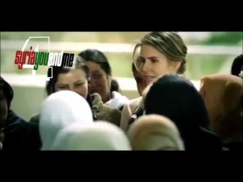 Syrians first lady meets the mothers of dead Syrian Soldiers