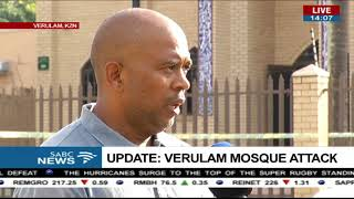 UPDATE: Verulam Mosque attack