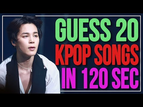 THE FASTEST KPOP GAME ⏰🕑 | KPOP Challenge | Part 3 | Difficulty: Hard