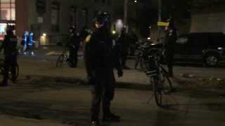 Seattle Cop Yells At Me Because I am filming Him: Superbowl 48 (Pioneer Square)