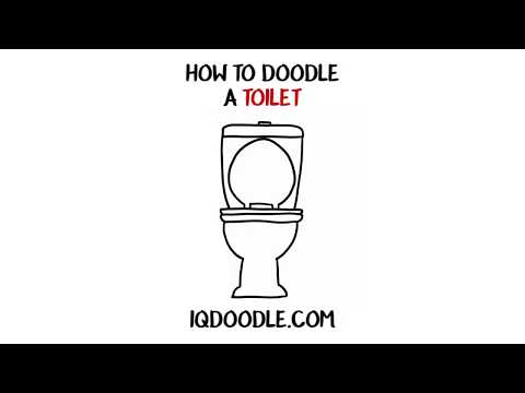 How to Draw a Toilet (drawing tips)